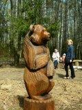 Парковая скульптура - Медведь | Парковая скульптура