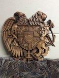 Фамильный герб, резьба на станке. | Резные работы из дерева, изготовленные на 3D станке с ЧПУ