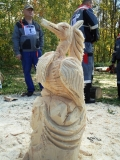 Скульптура - фестивальная работа | Резьба бензопилой - фестивали, запиловки
