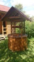 Колодезный домик без скульптур | Колодезный домик