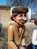Почтальон Печкин из дерева | Детские городки