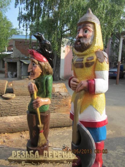 Сказочные герои для Измайловского парка