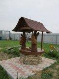 Колодезный домик с мудрыми совами | Колодезный домик
