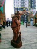 Бабка ёжка. | Фестивальная площадка на Святоозерской улице. Москва, Косино-Ухтомское.