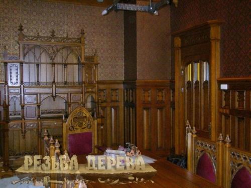 Элементы декора стен, накладная резьба, прорезная резьба, резная мебель.