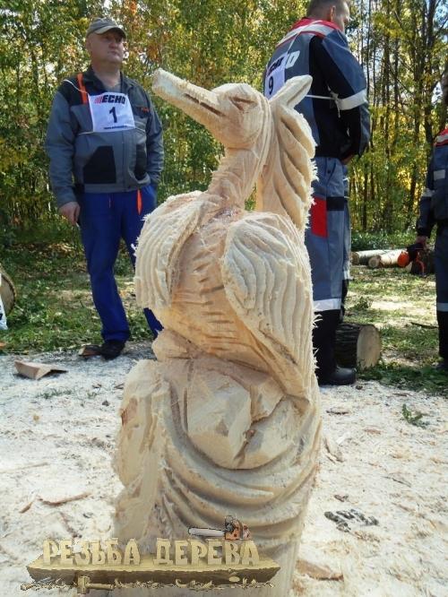 Скульптура - фестивальная работа