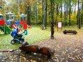 Деревянные резные изделия в парке Измайлово | Парковая скульптура