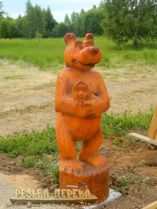Маша и Медведь в Переславле-Залесском