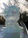 Ледяные скульптуры - статуя Свободы | Ледяные скульптуры в Москве
