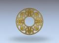 3D модель 254 | 3D модели для плоскорельефной резьбы по дереву на гравировально-фрезерном станке с ЧПУ