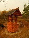 Колодезный домик из дерева | Колодезный домик