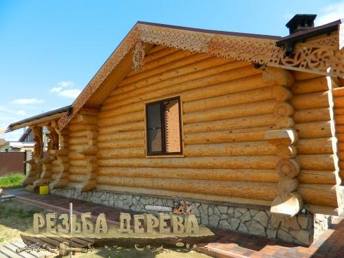 Резной орнамент на баню, ЧПУ станок