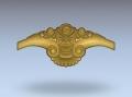 3D модель 44 | 3D модели для плоскорельефной резьбы по дереву на гравировально-фрезерном станке с ЧПУ