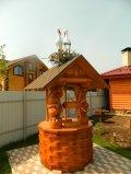 Колодец со скульптурами мишек | Колодезный домик