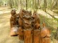 Деревянные скульптуры для ЛОСИНОГО ОСТРОВА | Парк «Лосиный остров»