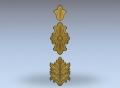 3D модель 19 | 3D модели для плоскорельефной резьбы по дереву на гравировально-фрезерном станке с ЧПУ