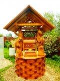 Деревянный дом для колодца | Домик для колодца