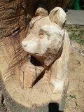 Резная скульптура в Пензенском зоопарке | Скульптуры в Пензенском зоопарке