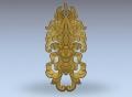 3D модель 29 | 3D модели для плоскорельефной резьбы по дереву на гравировально-фрезерном станке с ЧПУ