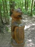 Мишка с бочкой мёда | Парк «Лосиный остров»