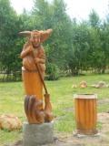 Баба-Яга в Переславле-Залесском | Русский парк в городе Переславль-Залесский