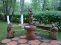 Мебель для парка, дачи и сада из дерева