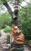 Скульптуры в Сафари парке | Сафари-парк в городе Геленджик