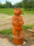 Маша и Медведь в Переславле-Залесском | Русский парк в городе Переславль-Залесский
