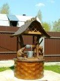 Дом для колодца с бобрами | Домик для колодца