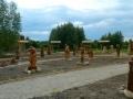 Сказочная аллея в Русском парке | Русский парк в городе Переславль-Залесский
