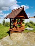Колодец с дичью деревянной | Колодезный домик